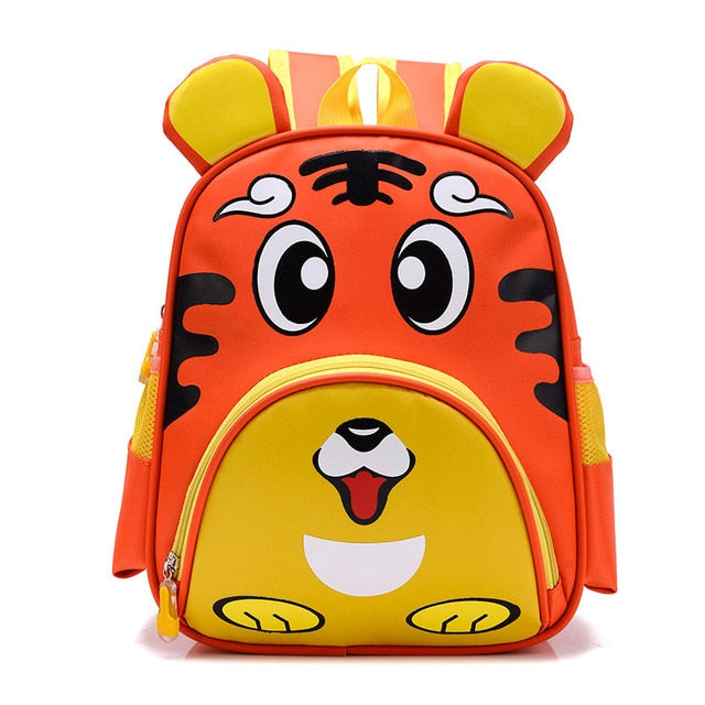 Cute Owl Animals Kids Backpack Toddler School Bags ZOO Families Kindergarten Bag
