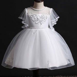 Chiffon Kids Pageant Dresses for Toddler Little Big Girls