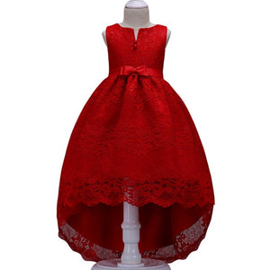 Flower Girl Dresses High Low Lace First Communion Wedding Party Prom Dresses
