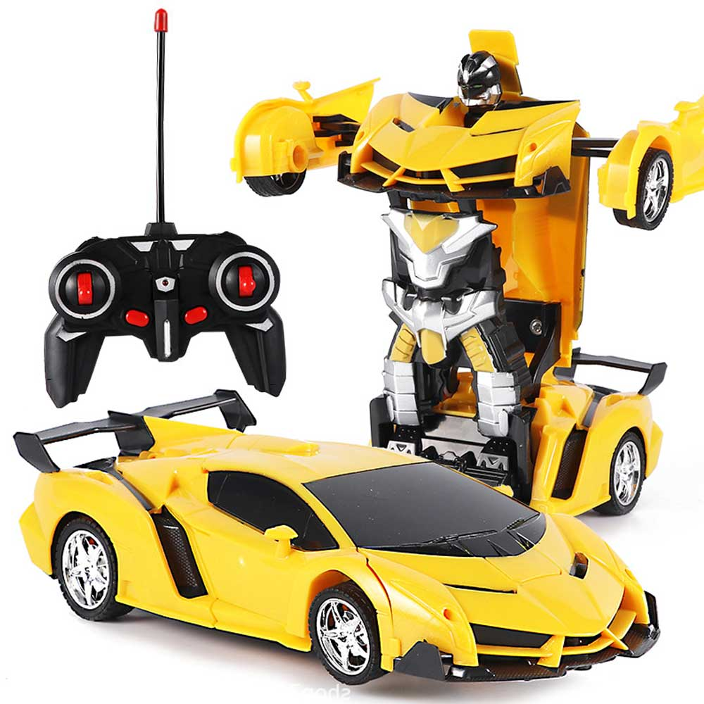 Gesture Sensor Robot RC Car 2 In 1 Kids Toys Remote Control Cars