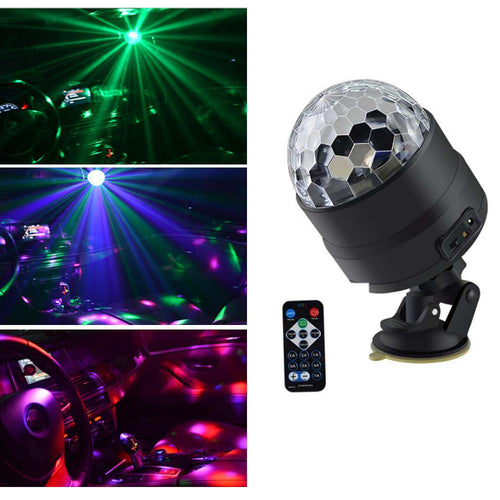 Mini Suction Cup Magic Ball Light