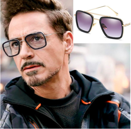 2019 Brand Design Square Sunglasses Avenger