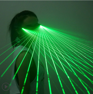 Trace Valley laser glasses luminous gloves led luminous clothing performance glasses stage props laser dance annual performance
