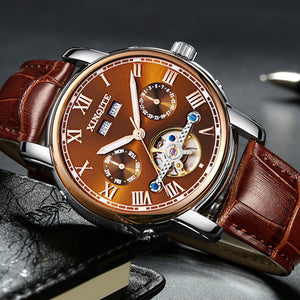 Automatic mechanical watch belt men's watch fashion men's watch