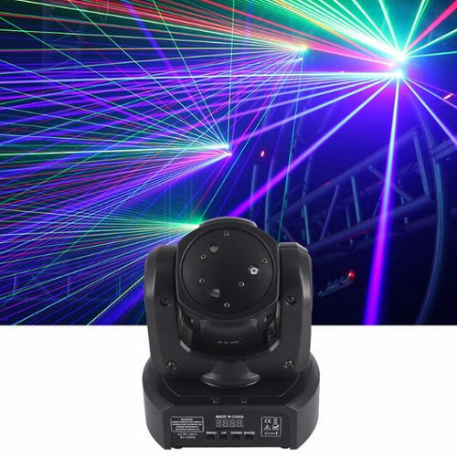 3 Lens RGB Beam Laser Moving Head  Stage Light