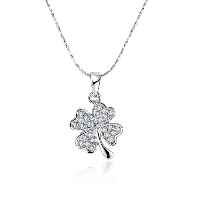 Mini Petite Clover Shape Necklace