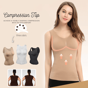 Stay Fabulous - Body Shaper Compression Beige / S Compression Top