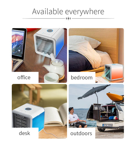 portable mini air cooler, air conditioner for summer,
