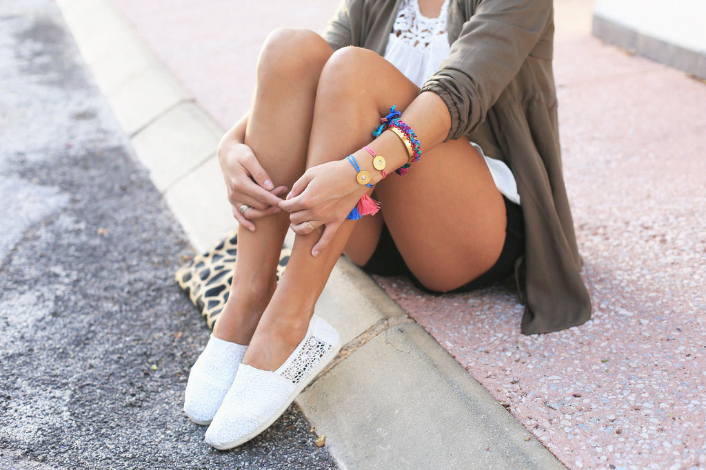 Seams For A Desire In Crocheted Shoes | Mel Boteri Vacation Essentials
