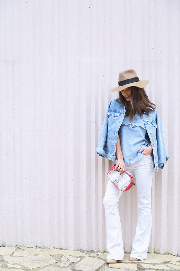 Summer Chic: Denim in Hot Weather | Mel Boteri Style Guide | Seams for a Desire