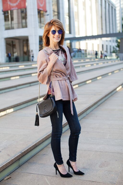 Fall Favorite: Fashionistas Prefer Suede | Mel Boteri Style Guide | The Middle Page
