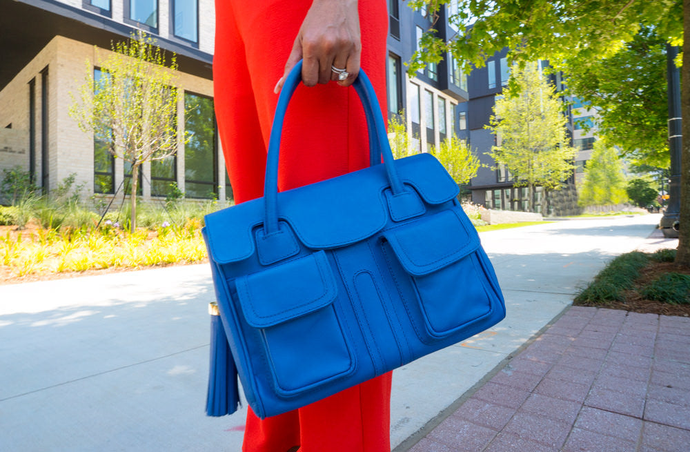 #MelsMuses | Mattie James | Cobalt Blue Christy Mini