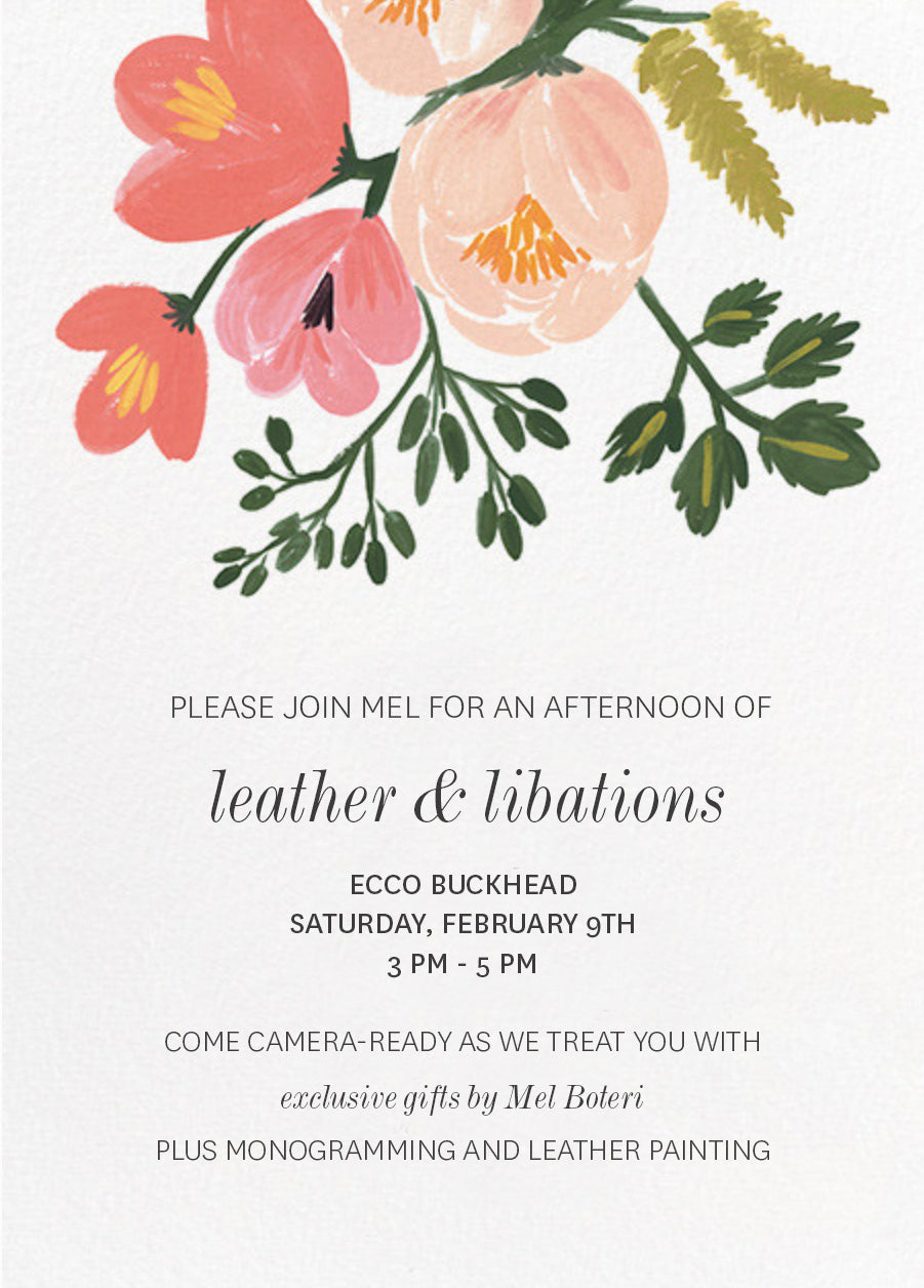 Mel Boteri Client Appreciation Event | Leather & Libations
