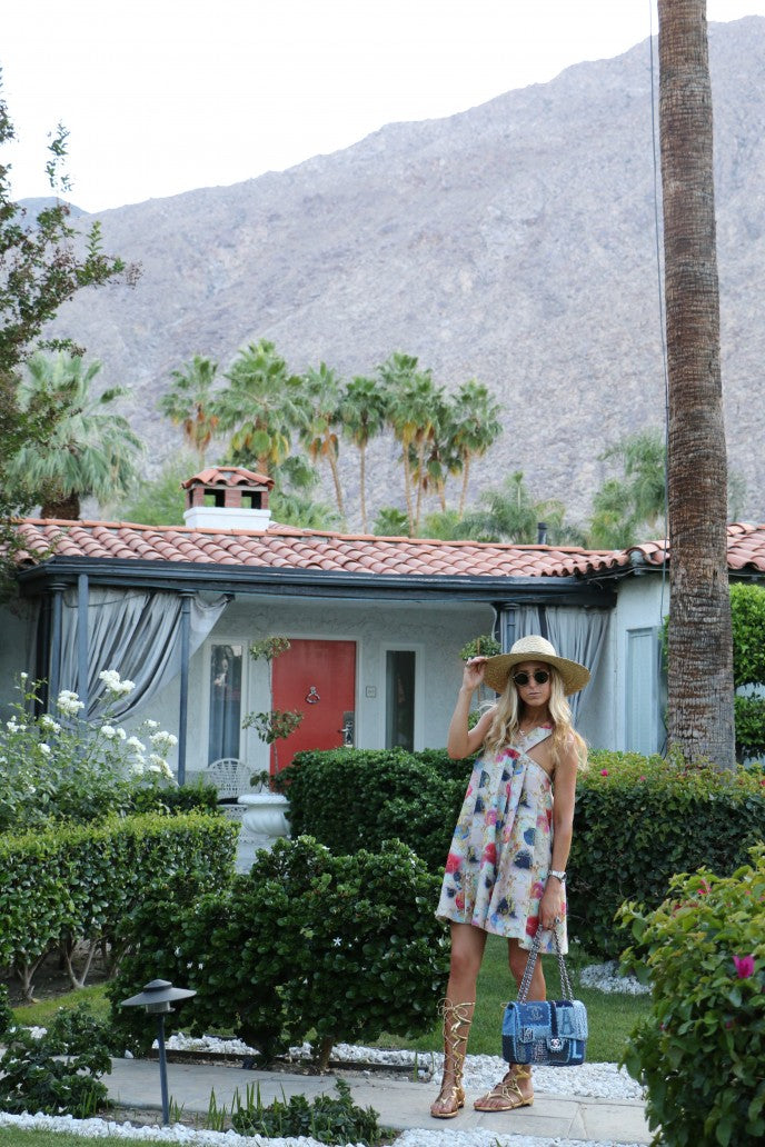 Elshane's World in A Boho Chic Look For Palm Springs | Mel Boteri Vacation Essentials
