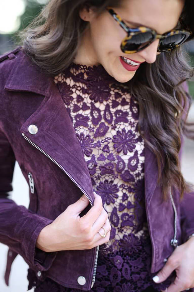 Mel Boteri Style Guide: How To Rock A Bold, Burgundy Lip With Fashion & Frills