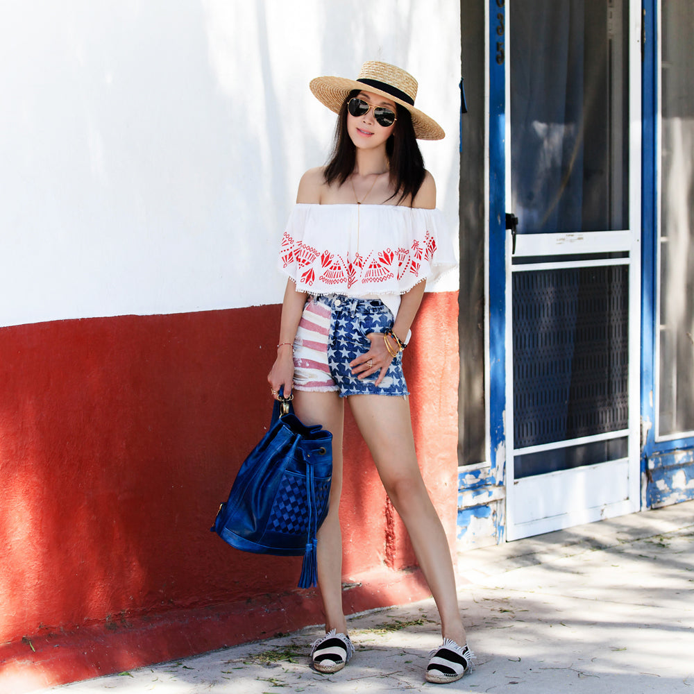 Jane of Fit Fab Fun Mom | Fourth of July Fashion | Mel Boteri Style Guide
