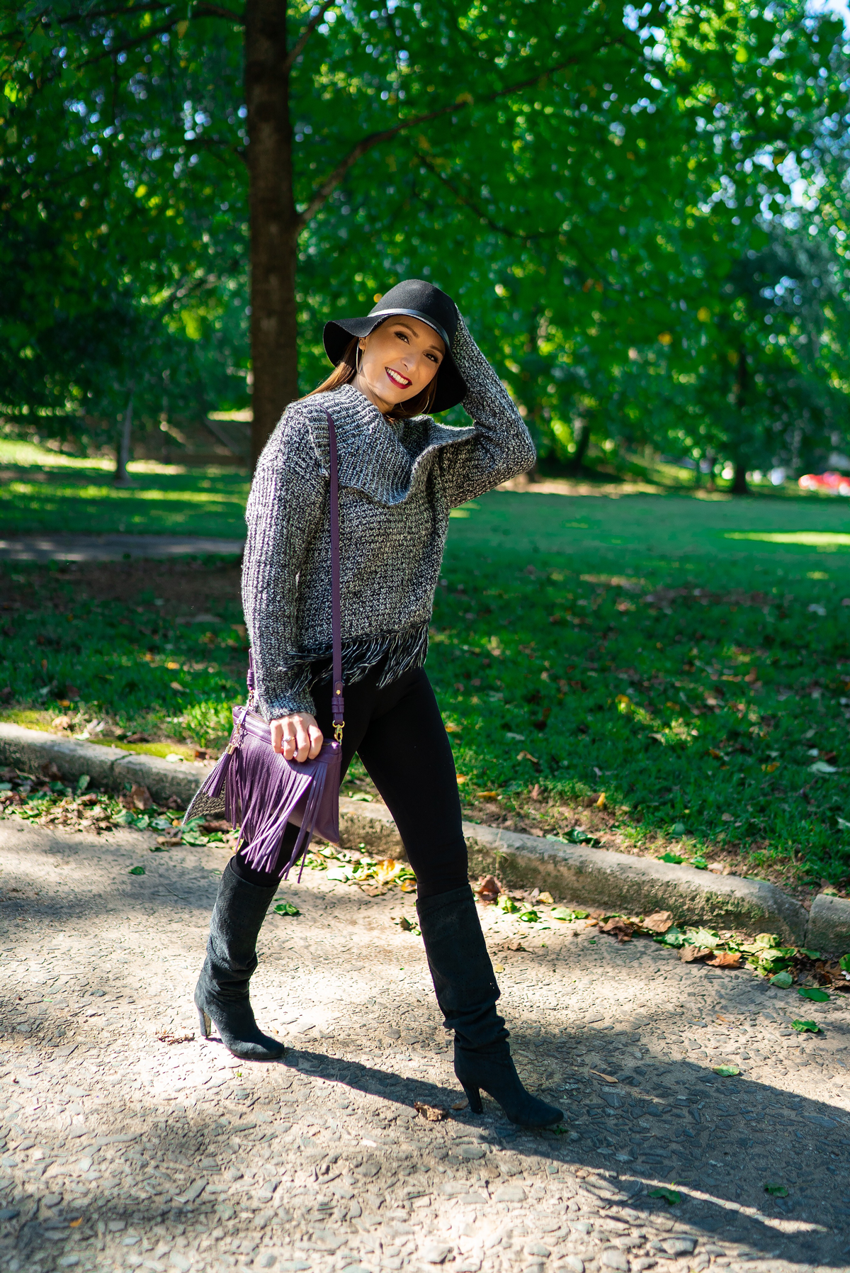 Fringe For Fall | Mel Boteri Style Guide