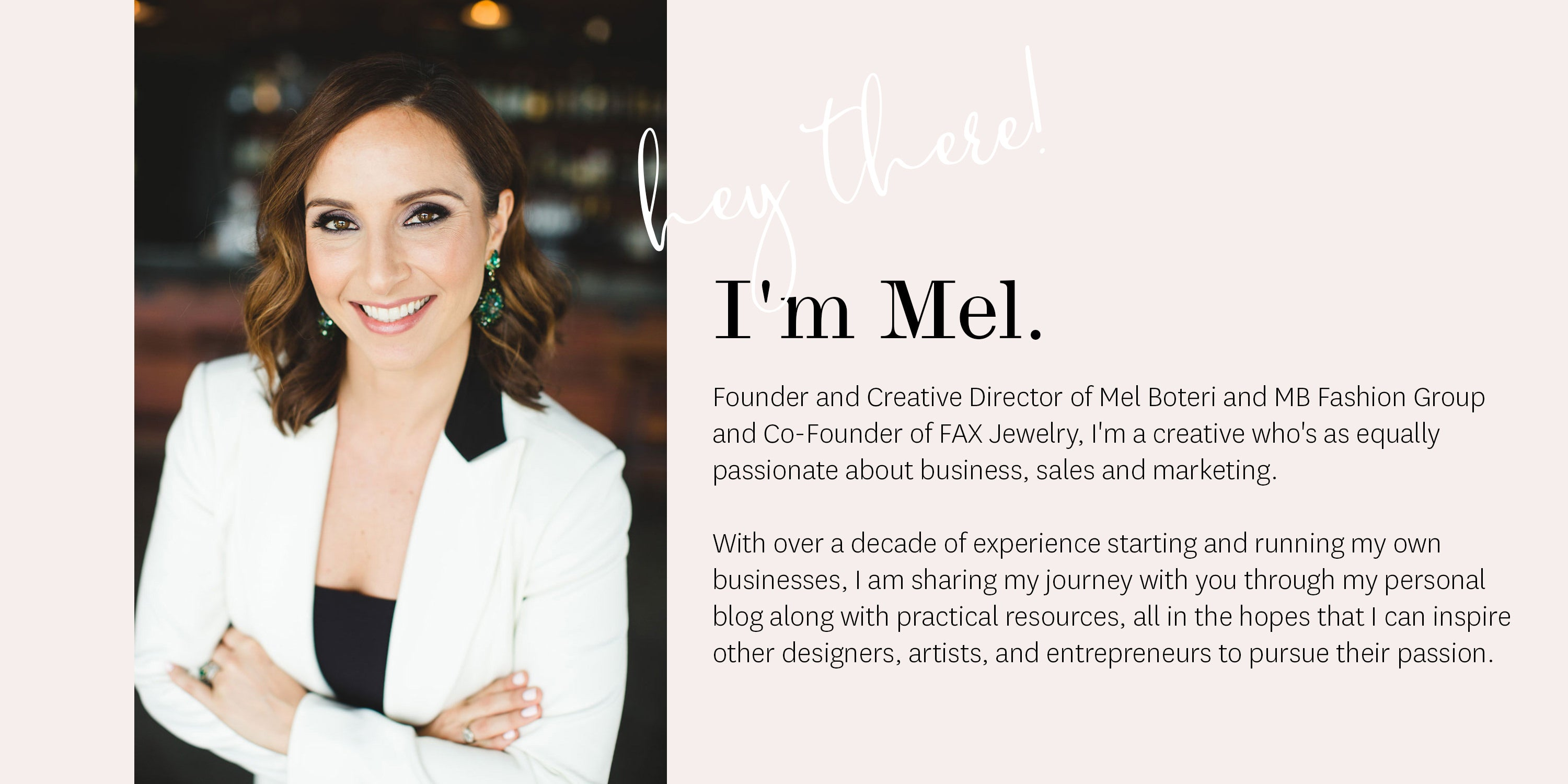 Meet Mel - Lead Magnet Footer