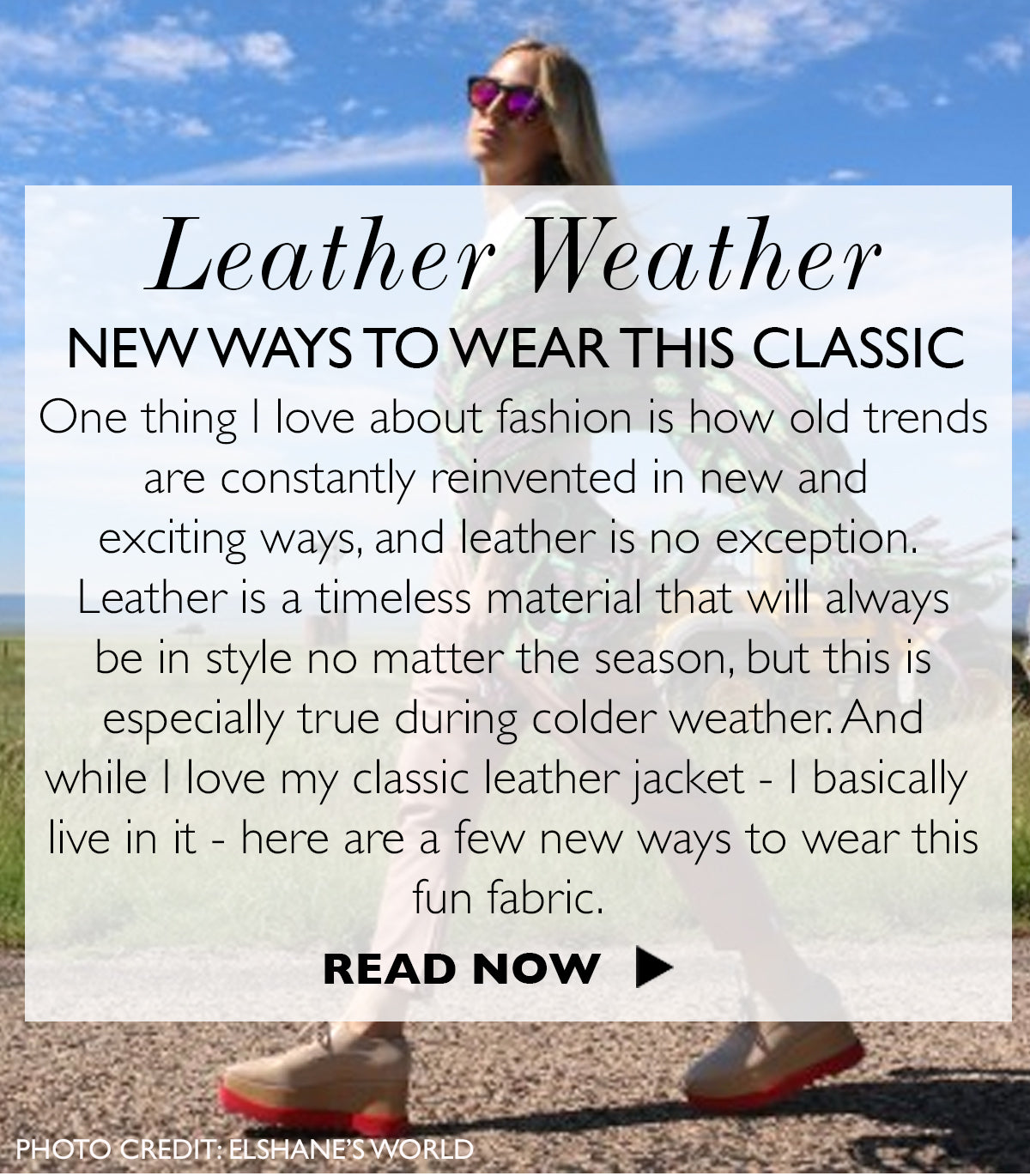 MB Style Guide | Leather Weather: New Ways To Wear This Classic