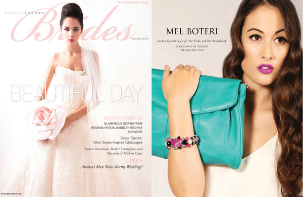Mel Boteri Featured in Atlantan Brides Magazine | Mel Boteri Press Highlights