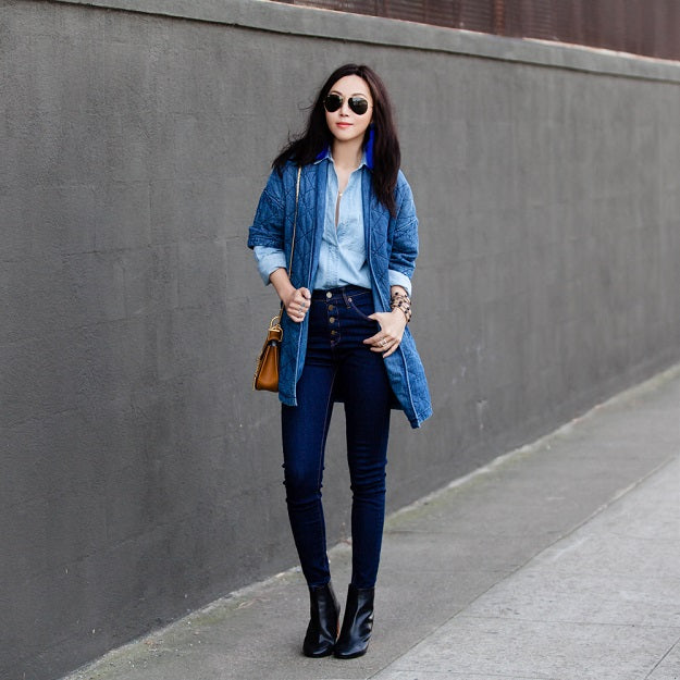Office Style: How To Incorporate Denim Into Your Office Outfits | Mel Boteri Style Guide | Fit Fab Fun Mom