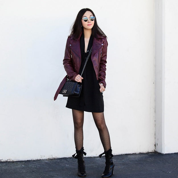 Style Guide: How to Be Fashionable in Burgundy | Mel Boteri Style Guide | Fit Fab Fun Mom
