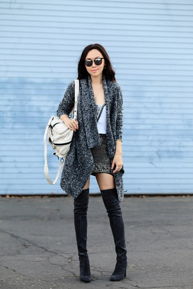 Style Guide: How to Put a Modern Spin on Grunge | Fit Fab Fun Mom | Mel Boteri Style Guide