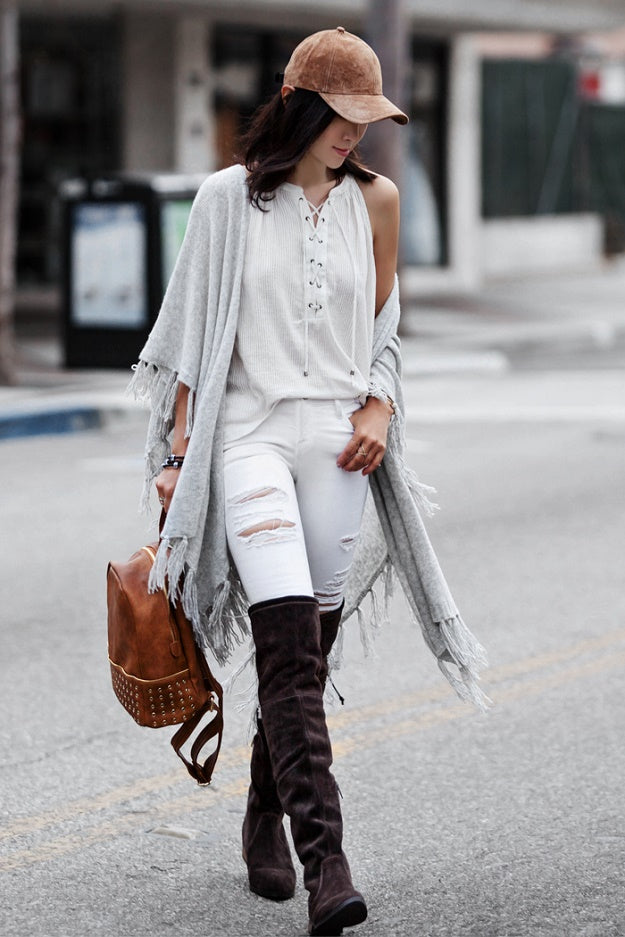 Fall Favorite: Fashionistas Prefer Suede | Mel Boteri Style Guide | Fit Fab Fun Mom