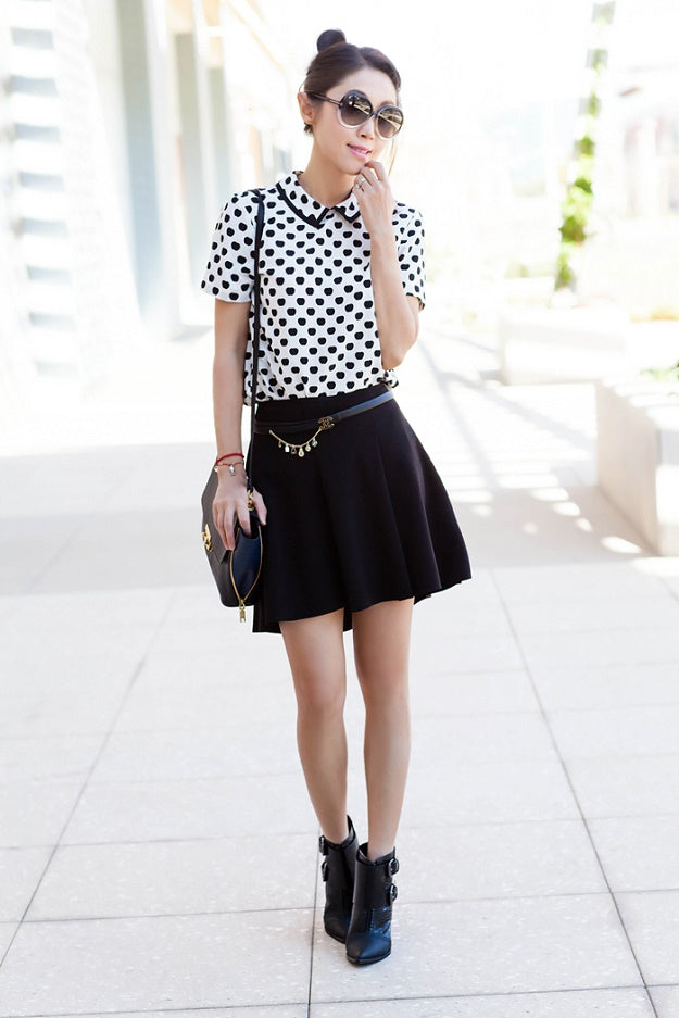Style Tips & Tricks: How to Wear a Black Skirt | Mel Boteri Style Guide | Fit Fab Fun Mom