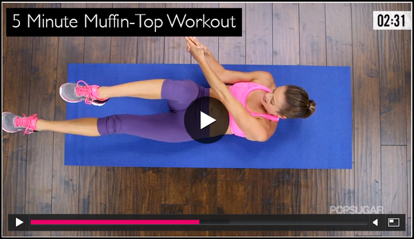 Pop Sugar 5 Minute Ab Workout Video