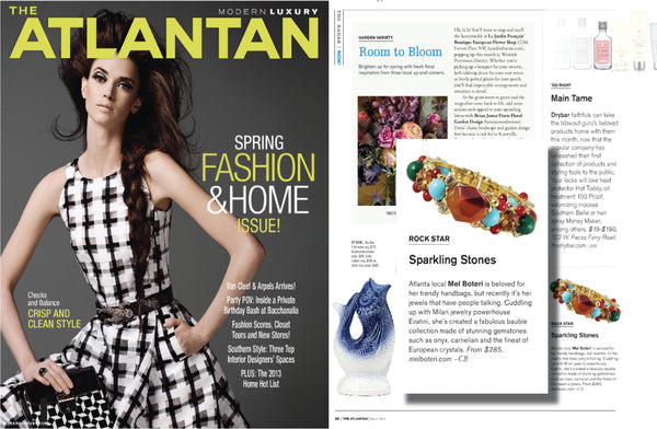 Mel Boteri Featured in The Atlantan Magazine | Mel Boteri Press Highlights
