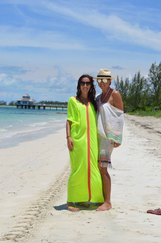The Wordy Girl Caftan Cover-Ups | Mel Boteri Vacation Essentials