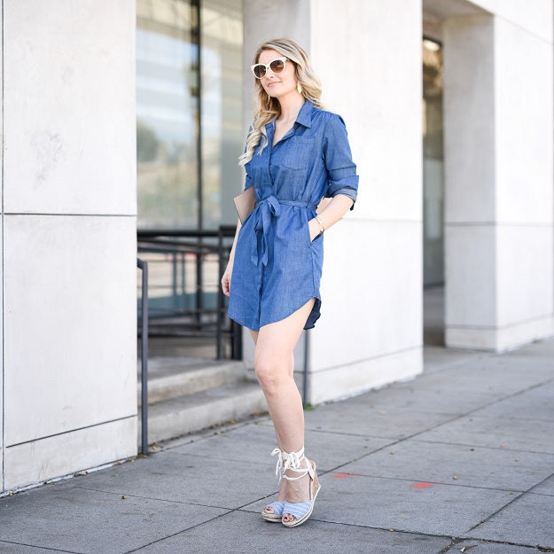 Summer Chic: Denim in Hot Weather | Mel Boteri Style Guide | Visions of Vogue