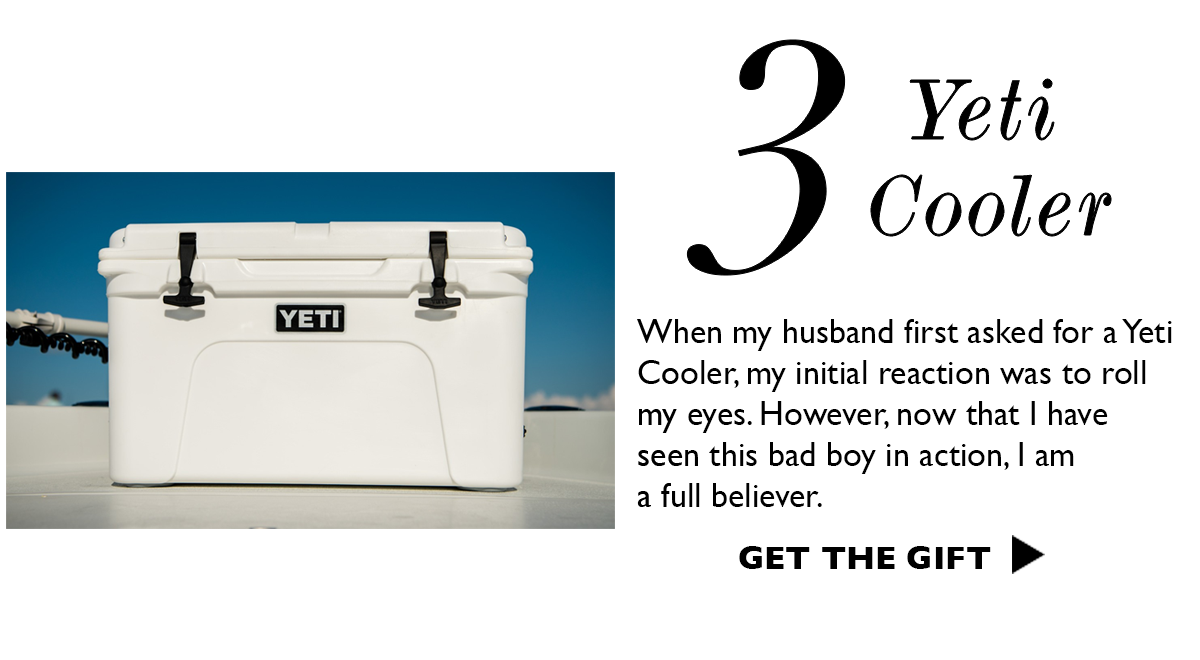 Yeti Cooler | Gift Ideas For Him