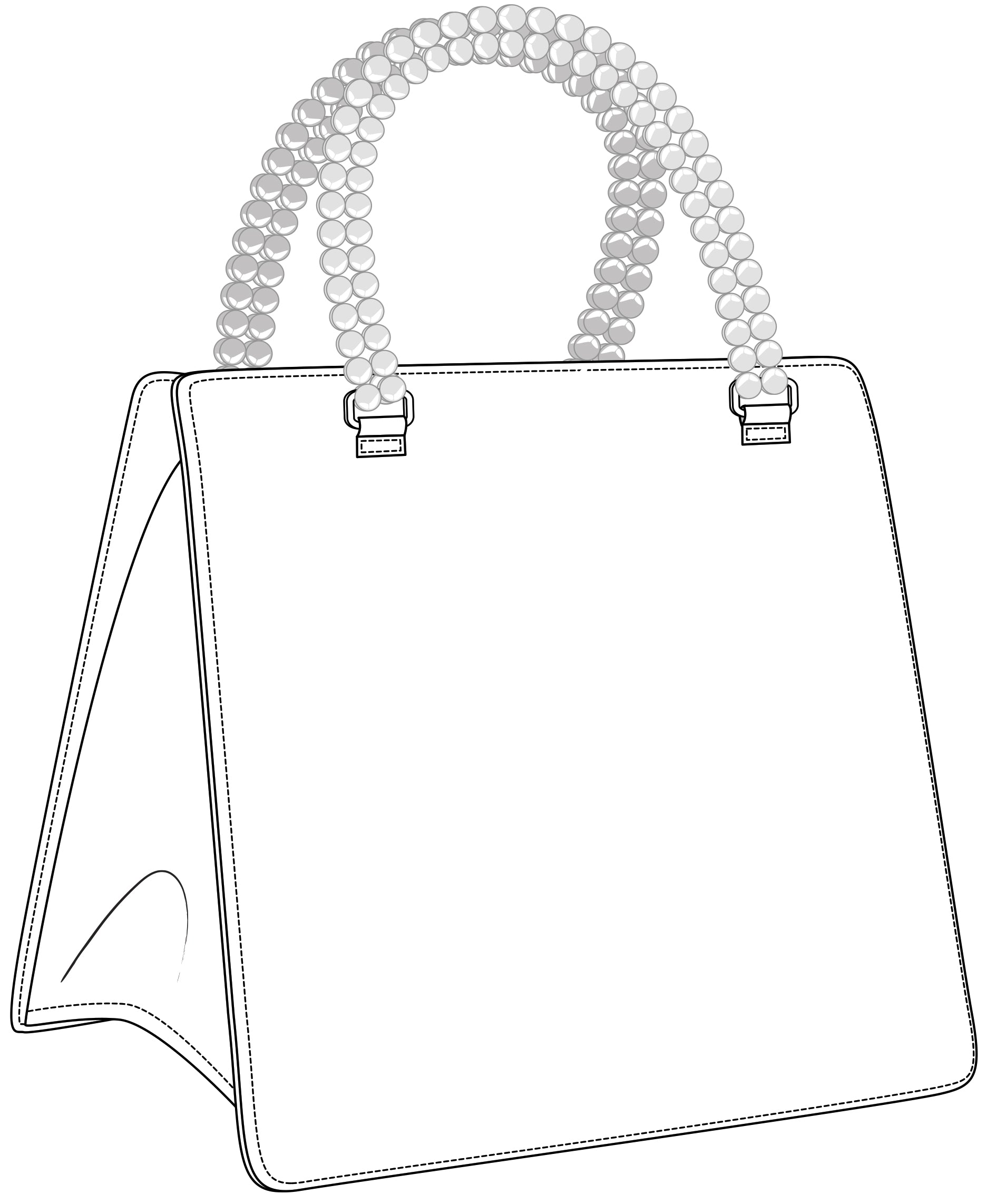 Open Call Winning Design: Mini Tote With Beaded Handles