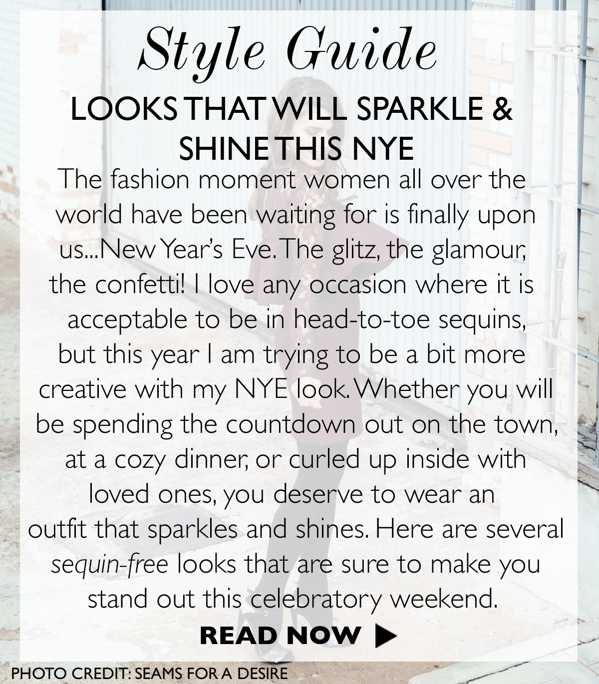 Looks That Will Have You Sparkle And Shine This New Year's Eve