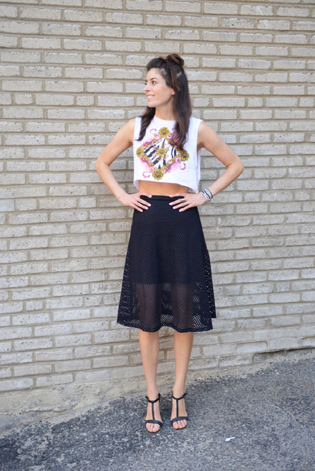 Style Tips & Tricks: How to Wear a Black Skirt | Mel Boteri Style Guide | Pumps and Iron