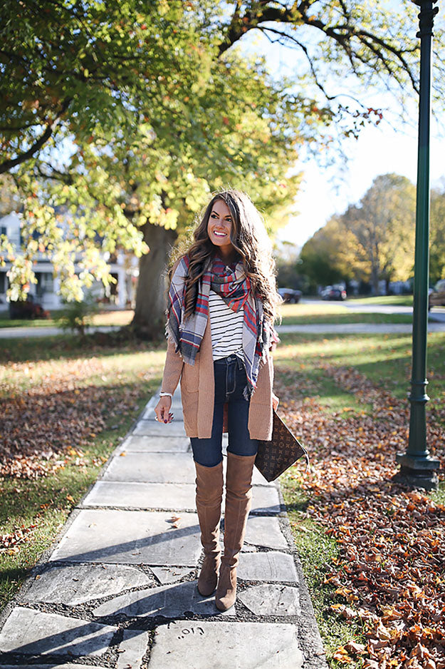 Mel Boteri Style Guide: Your Last Minute Thanksgiving Look | Southern Curls and Pearls
