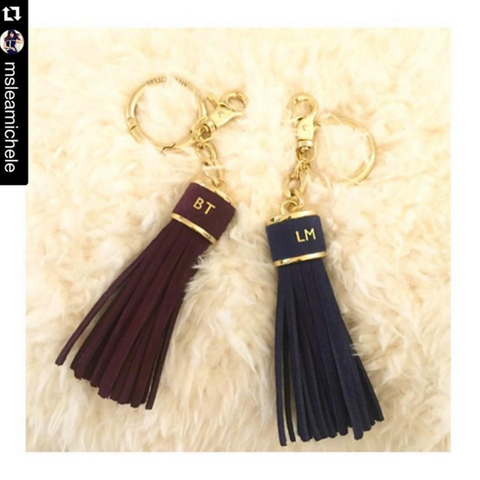 Build A Bag | Leather Tassel Charm