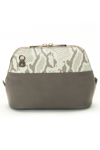 Mel Boteri 'Watson Mini' Cross-Body & Clutch Leather Bag | Back View