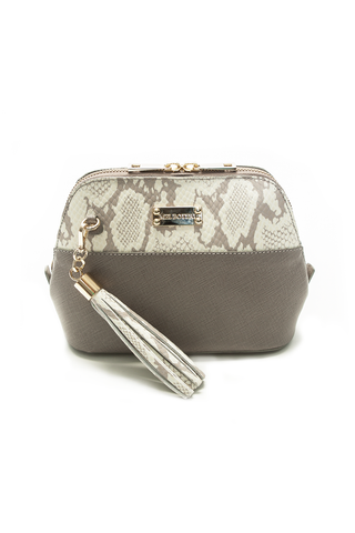 Mel Boteri 'Watson Mini' Cross-Body & Clutch Leather Bag | Front View