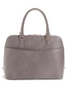 Mel Boteri Grey Saffiano Leather 'Watson' Tote | Back View