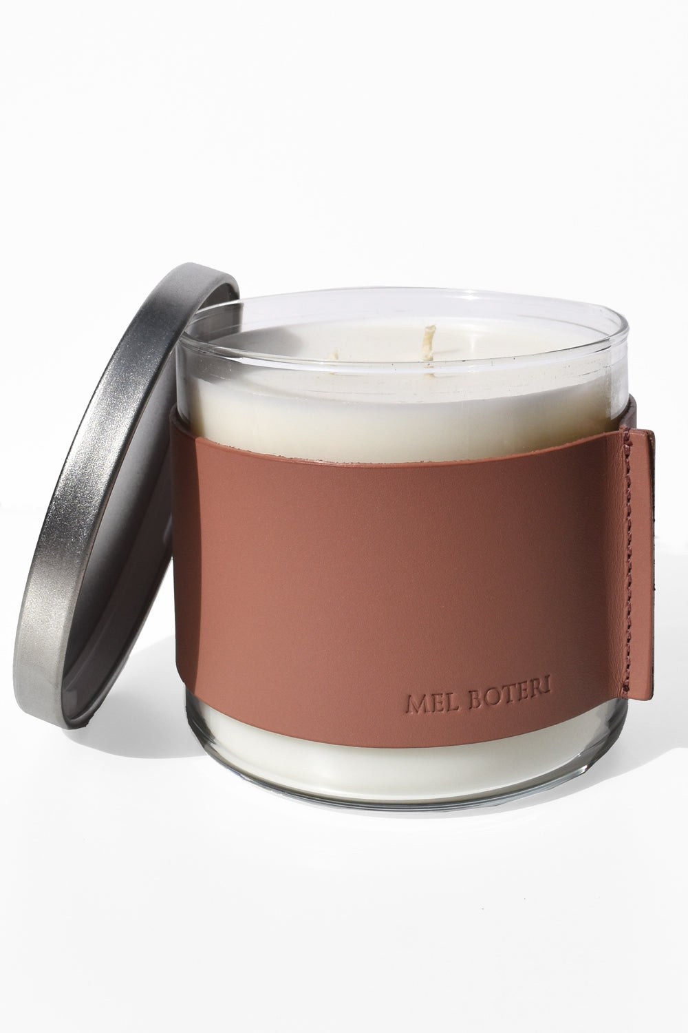 Oud & Bergamot Scented Candle | Mel Boteri Home Collection | Vegan