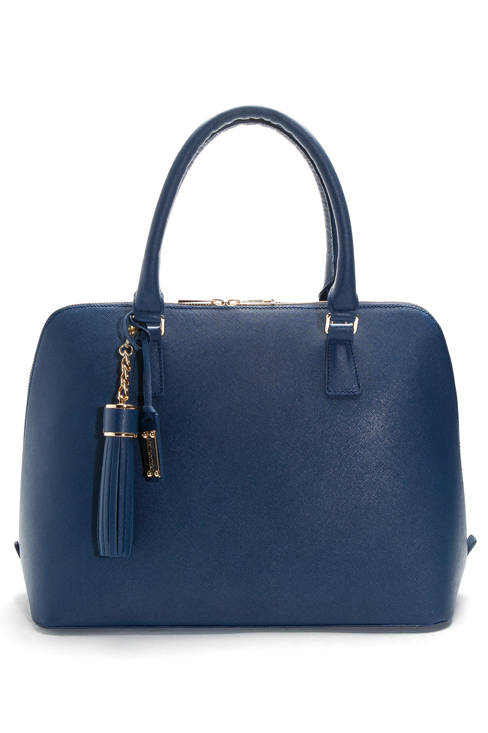 Mel Boteri | Blue Saffiano Leather 'Watson' Tote | Front