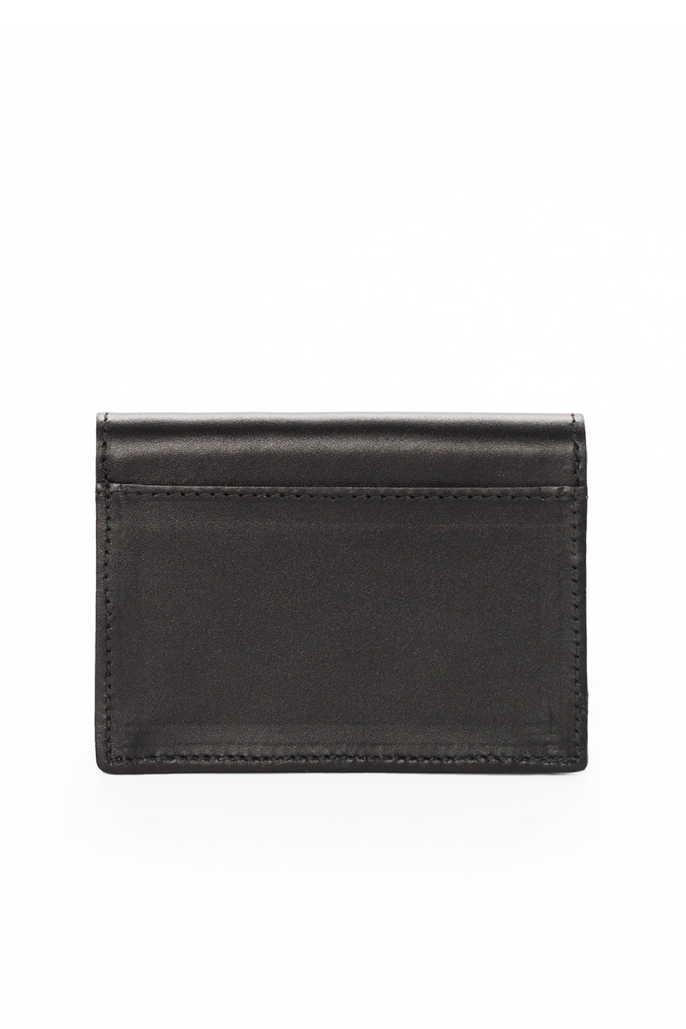 Mel Boteri | 'Leave A Little Sparkle' Cardholder | Black Leather | Back