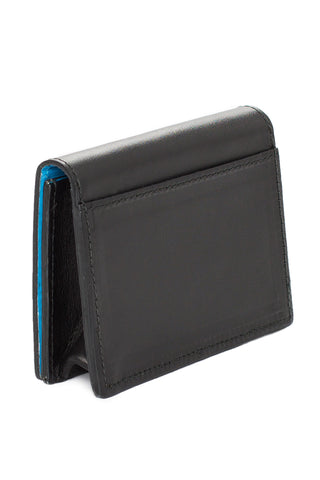 Mel Boteri | 'Leave A Little Sparkle' Cardholder | Black Leather | Back Slip Pocket