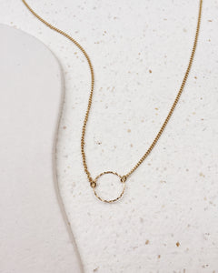 Fine Circle Necklace