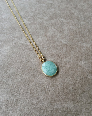 Stone & Beads Amazonite Necklace