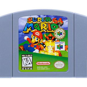 Nintendo N64 Game Cartridges