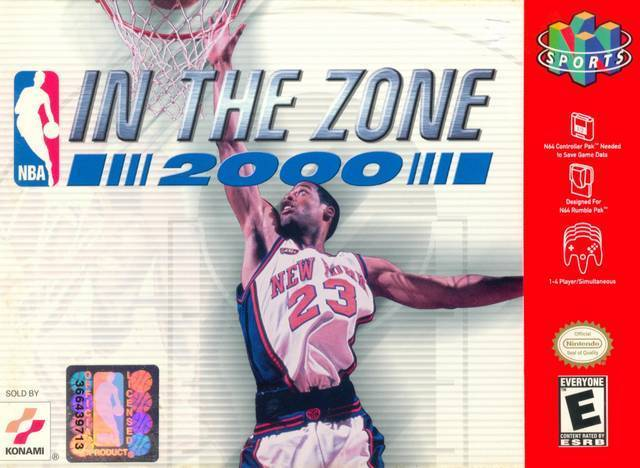 NBA IN THE ZONE 2000 - Video Game Delivery